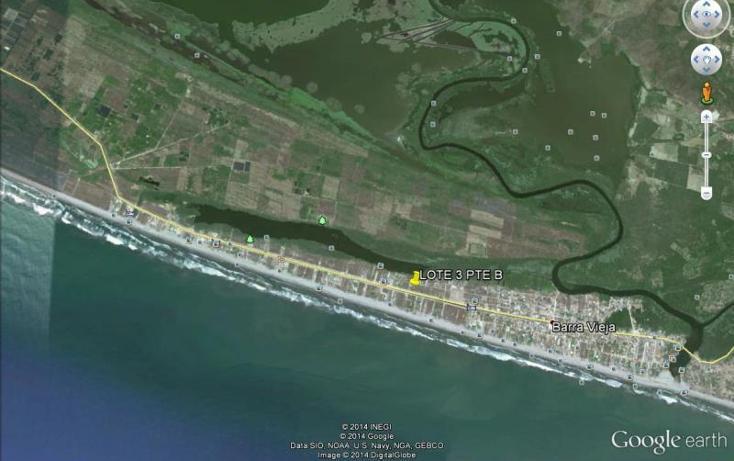 Foto de terreno habitacional en venta en bvd barra vieja 1, barra vieja, acapulco de juárez, guerrero, 1534374 No. 01
