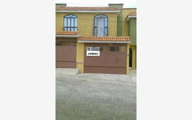 Foto de casa en venta en  1, canteras, morelia, michoacán de ocampo, 844187 No. 01
