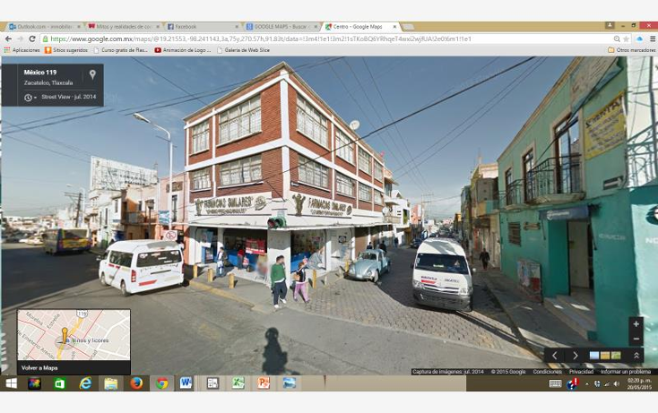 Foto de edificio en venta en  1, centro, zacatelco, tlaxcala, 1211579 No. 01