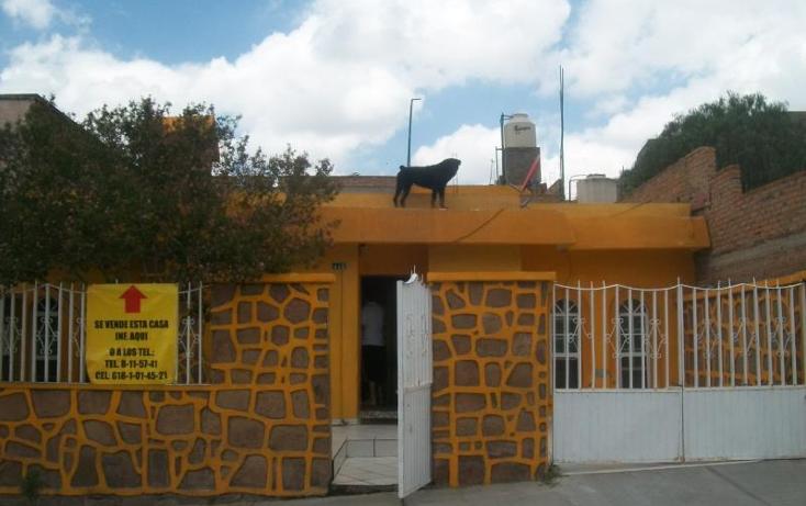 Foto de casa en venta en  1, cerro de guadalupe, durango, durango, 597391 No. 01