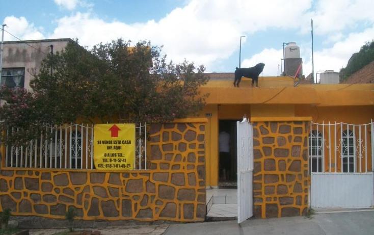 Foto de casa en venta en  1, cerro de guadalupe, durango, durango, 597391 No. 02