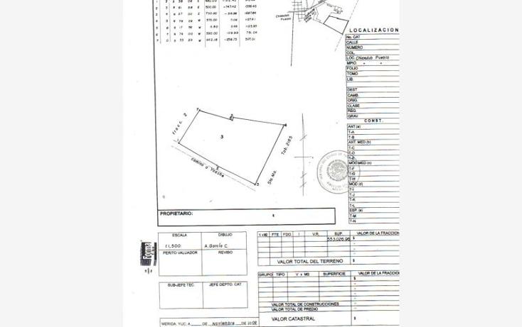Foto de terreno habitacional en venta en  1, chicxulub, chicxulub pueblo, yucatán, 1647616 No. 01