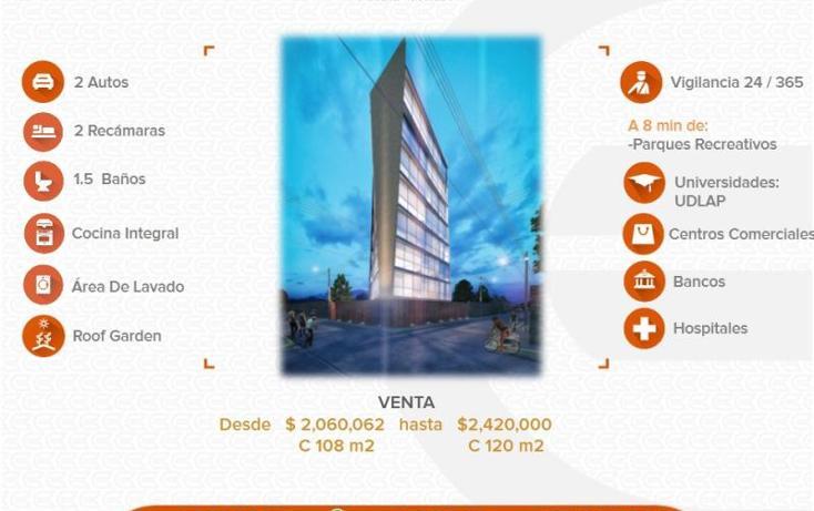 Foto de departamento en venta en  1, cholula, san pedro cholula, puebla, 1411803 No. 01