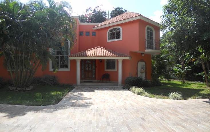 Foto de casa en venta en  1, club de golf la ceiba, mérida, yucatán, 1447065 No. 01