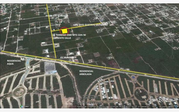 Foto de terreno habitacional en venta en  1, colegios, benito juárez, quintana roo, 1620888 No. 01