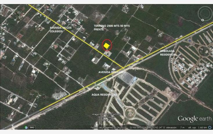 Foto de terreno habitacional en venta en  1, colegios, benito juárez, quintana roo, 1620914 No. 01