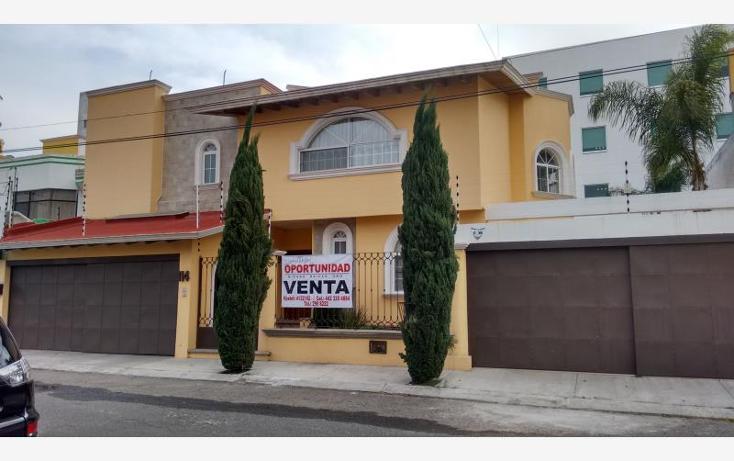 Foto de casa en venta en  1, colinas del cimatario, quer?taro, quer?taro, 1583496 No. 01