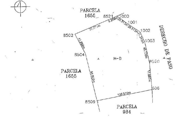 Foto de terreno comercial en venta en  1, cumbres de con?n tercera secci?n, el marqu?s, quer?taro, 1674200 No. 16