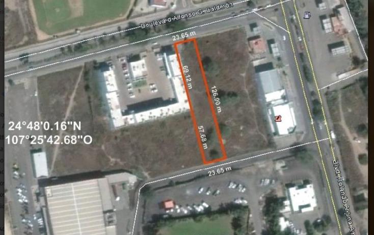 Foto de terreno comercial en venta en  1, desarrollo urbano 3 r?os, culiac?n, sinaloa, 1837554 No. 01