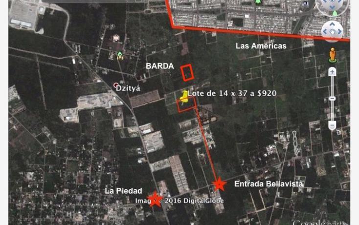 Foto de terreno habitacional en venta en  1, dzitya, mérida, yucatán, 1979846 No. 01