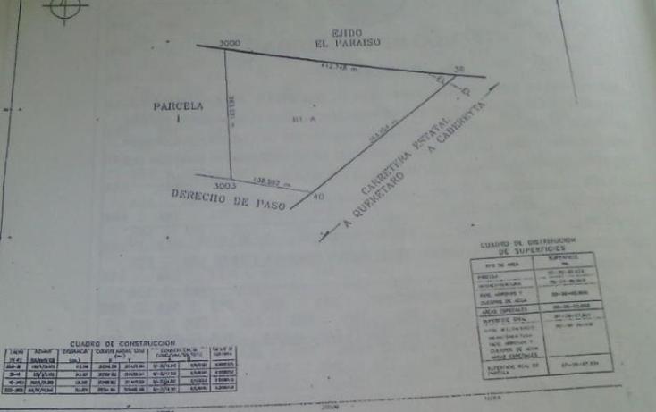 Foto de terreno industrial en venta en  1, el para?so, el marqu?s, quer?taro, 1421525 No. 04