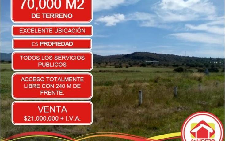 Foto de terreno comercial en venta en  1, el saucillo, mineral de la reforma, hidalgo, 1410289 No. 01