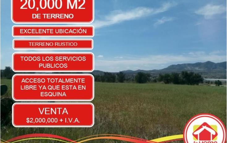 Foto de terreno comercial en venta en  1, el saucillo, mineral de la reforma, hidalgo, 1410303 No. 01