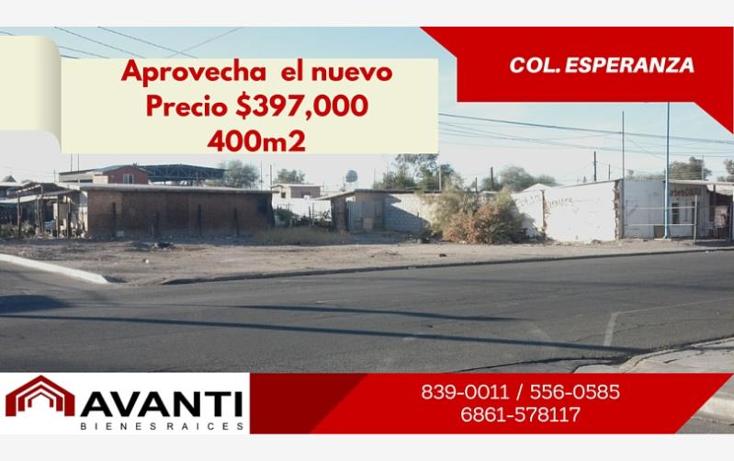 Foto de terreno habitacional en venta en  1, esperanza, mexicali, baja california, 1324747 No. 01