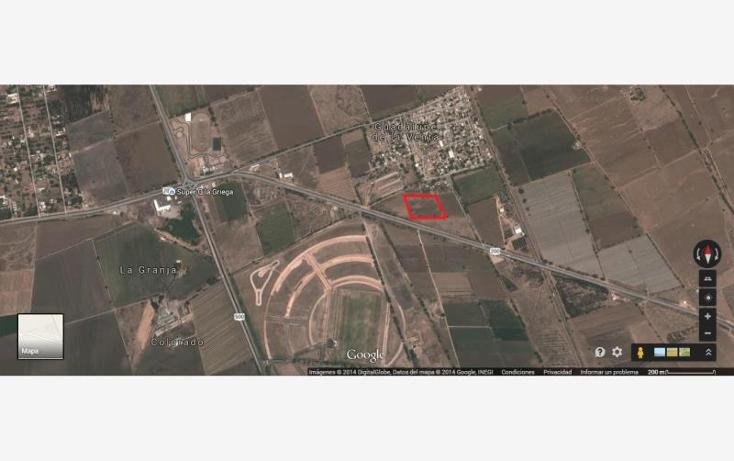 Foto de terreno industrial en venta en  1, guadalupe la venta, el marqués, querétaro, 615458 No. 01