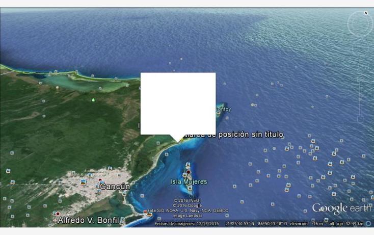 Foto de terreno comercial en venta en  1, isla blanca, isla mujeres, quintana roo, 1988144 No. 08