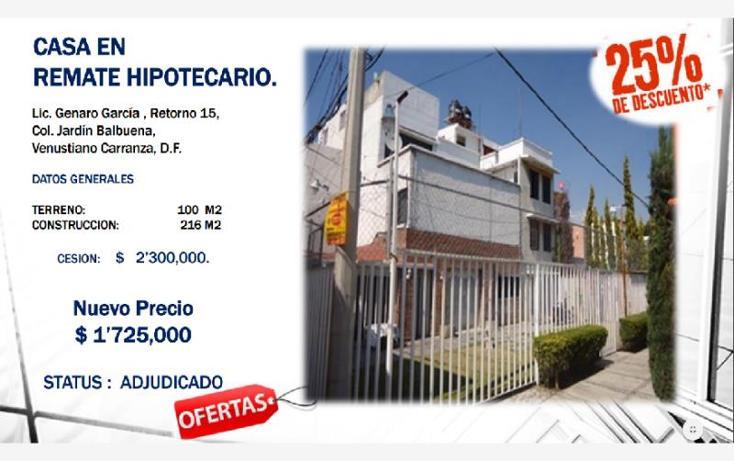 Casa en lorenzo boturini 1 jard n balbuena en venta id for Casas en venta jardin balbuena