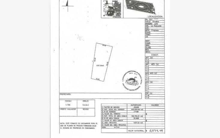Foto de terreno habitacional en venta en  1, komchen, m?rida, yucat?n, 1979634 No. 07