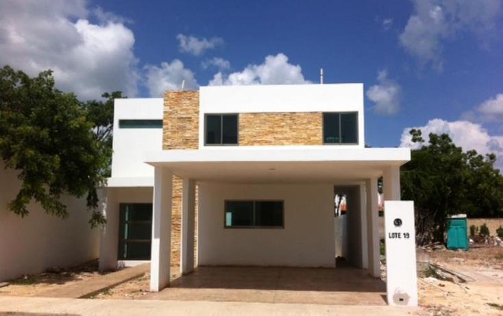 Foto de casa en venta en  1, las margaritas de cholul, m?rida, yucat?n, 1954246 No. 01