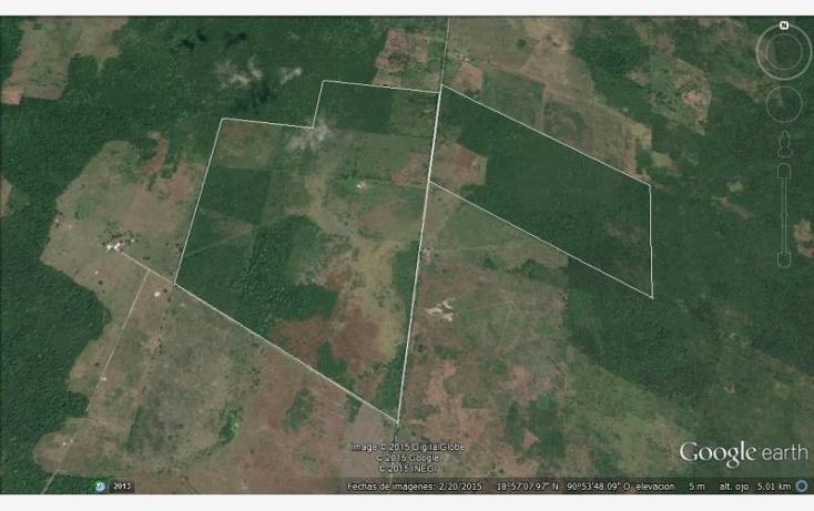 Foto de rancho en venta en  1, ley federal de la reforma agraria, champotón, campeche, 1493153 No. 01