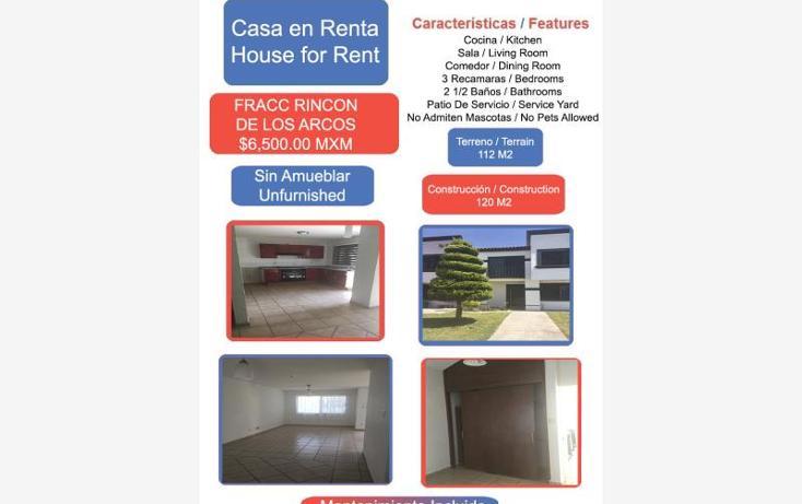 Foto de casa en renta en  1, los arcos, irapuato, guanajuato, 1824042 No. 01