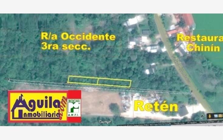 Foto de terreno habitacional en venta en  1, occidente 3a sección, comalcalco, tabasco, 1649634 No. 02