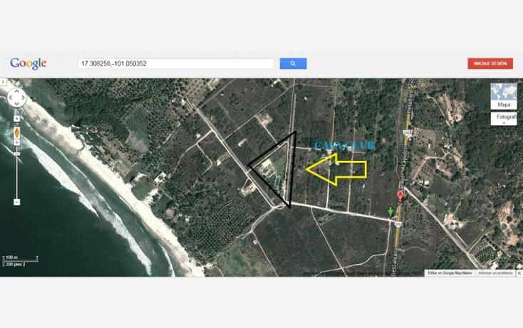 Foto de terreno habitacional en venta en  1, papanoa, técpan de galeana, guerrero, 415762 No. 08