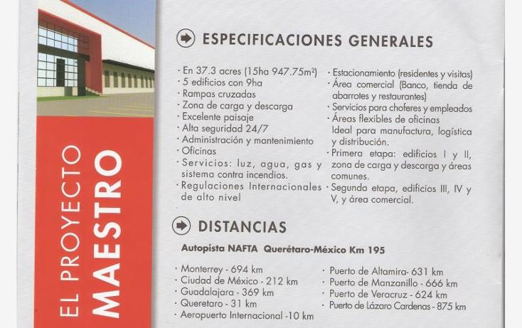 Foto de nave industrial en renta en  1, paseos del marques, el marqués, querétaro, 734007 No. 01