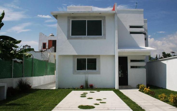 Foto de casa en venta en  1, pedregal de oaxtepec, yautepec, morelos, 662793 No. 01