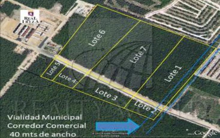 Foto de terreno habitacional en venta en 1, playa del carmen centro, solidaridad, quintana roo, 935119 no 01