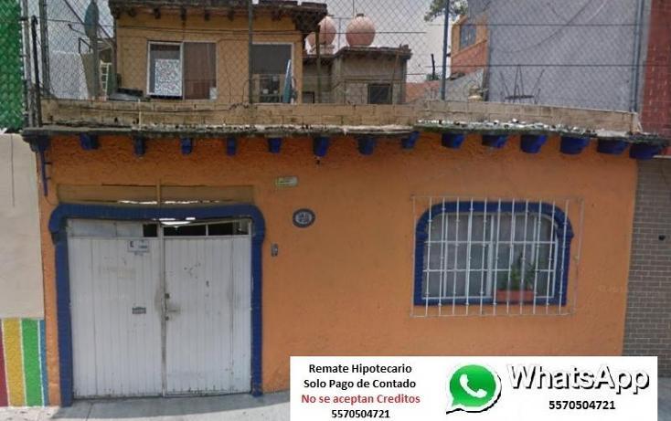 Foto de casa en venta en  1, porvenir, azcapotzalco, distrito federal, 1807308 No. 01