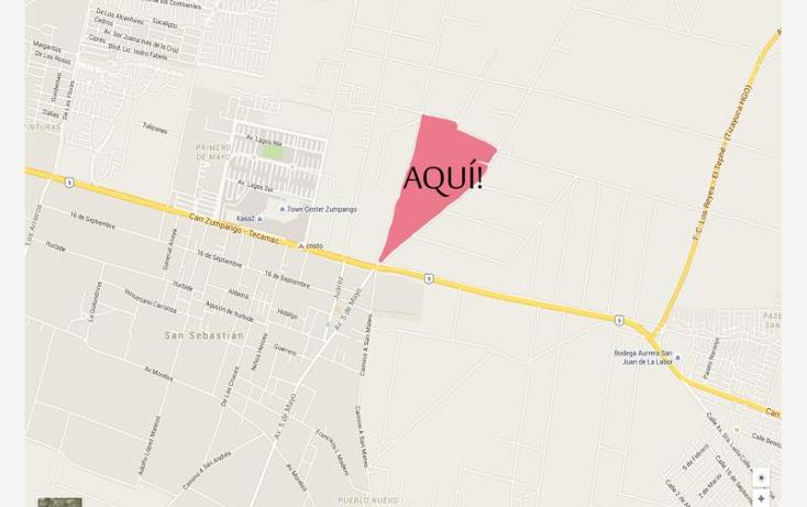 Foto de terreno habitacional en venta en  1, primero de mayo, zumpango, méxico, 1470839 No. 01
