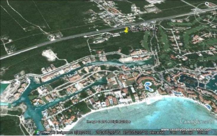 Foto de terreno habitacional en venta en  1, puerto aventuras, solidaridad, quintana roo, 552086 No. 01