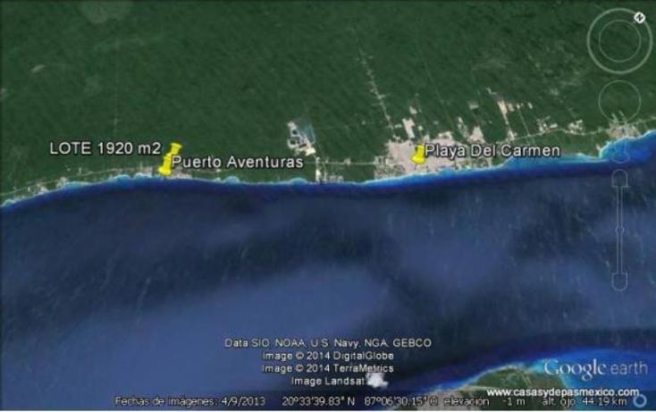 Foto de terreno habitacional en venta en  1, puerto aventuras, solidaridad, quintana roo, 552086 No. 03