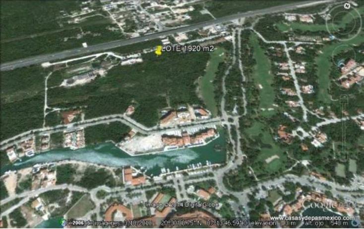 Foto de terreno habitacional en venta en  1, puerto aventuras, solidaridad, quintana roo, 552086 No. 10
