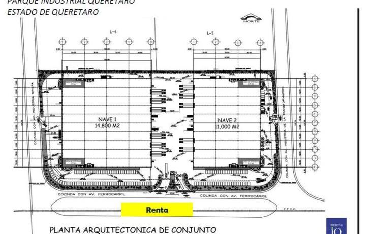 Foto de nave industrial en renta en  1, querétaro, querétaro, querétaro, 754143 No. 02
