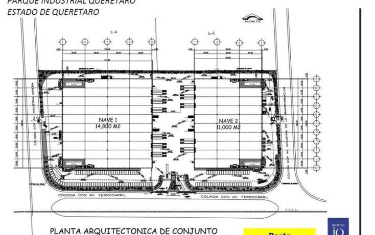 Foto de nave industrial en renta en  1, querétaro, querétaro, querétaro, 754145 No. 02