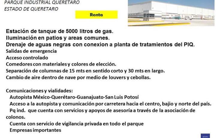 Foto de nave industrial en renta en  1, querétaro, querétaro, querétaro, 754145 No. 04