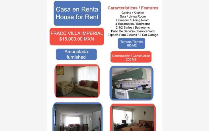 Foto de casa en renta en  1, quinta villas, irapuato, guanajuato, 1994292 No. 01
