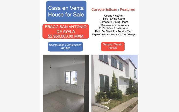 Foto de casa en venta en  1, san antonio de ayala, irapuato, guanajuato, 1901512 No. 01