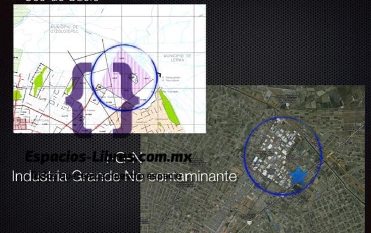 Foto de terreno industrial en venta en lopez portillo 1, san blas otzacatipan, toluca, méxico, 2672451 No. 03