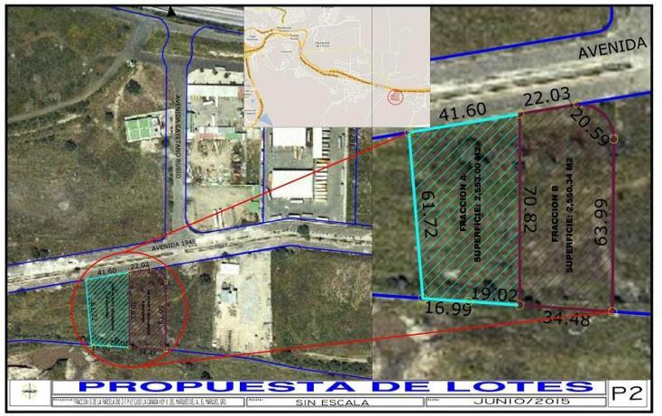 Foto de terreno industrial en venta en  1, san isidro miranda, el marqués, querétaro, 970981 No. 03