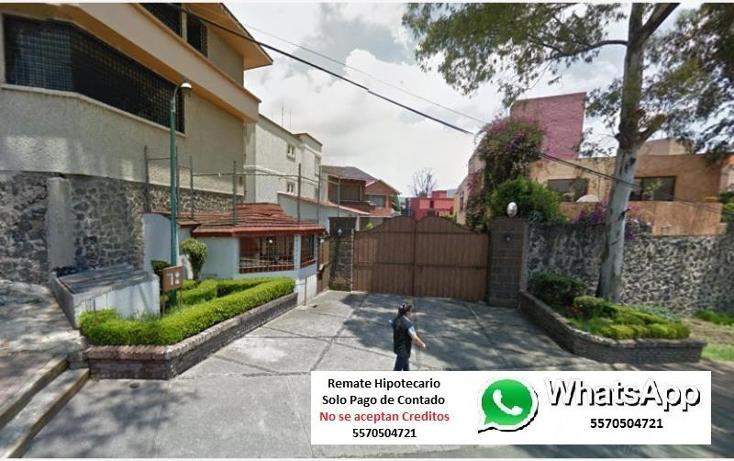 Foto de casa en venta en  1, san nicolás totolapan, la magdalena contreras, distrito federal, 1807568 No. 01