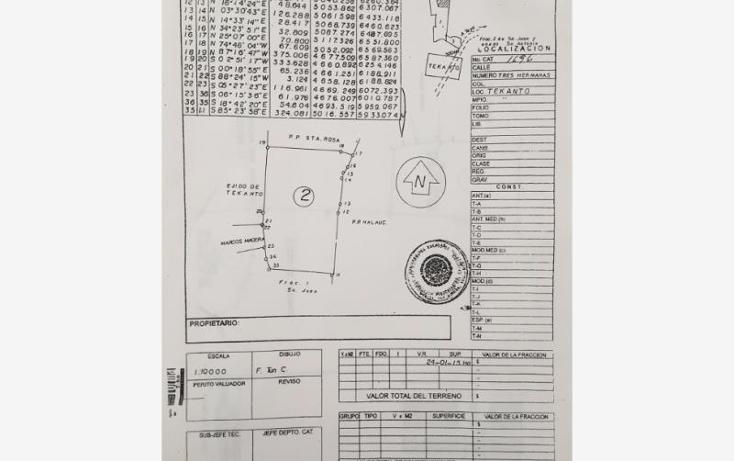 Foto de terreno industrial en venta en  1, tekanto, tekant?, yucat?n, 1986698 No. 03