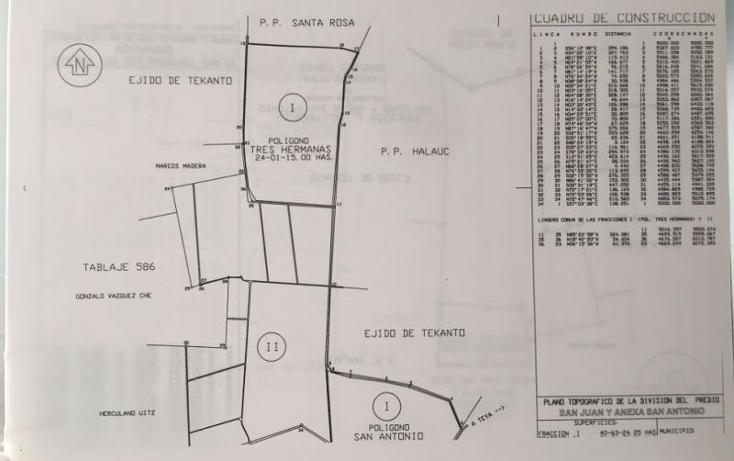 Foto de terreno industrial en venta en  1, tekanto, tekant?, yucat?n, 1986698 No. 05