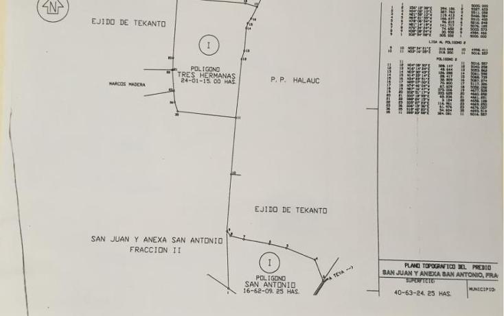 Foto de terreno industrial en venta en  1, tekanto, tekant?, yucat?n, 1986698 No. 06