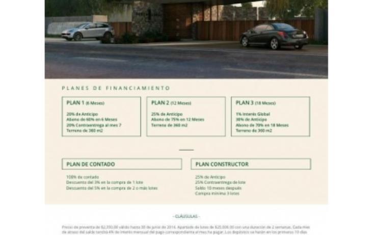 Foto de terreno habitacional en venta en  1, temozon norte, mérida, yucatán, 518079 No. 11