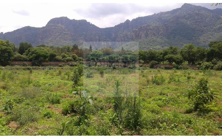 Foto de terreno habitacional en venta en  1, tepoztlán centro, tepoztlán, morelos, 1028995 No. 01