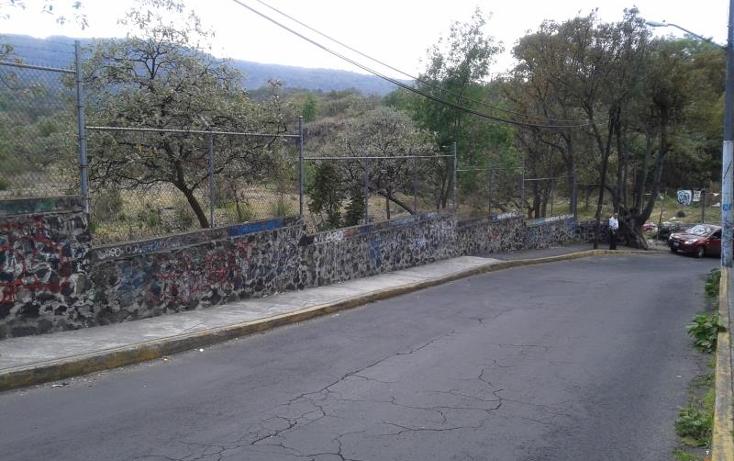 Foto de terreno comercial en venta en  1, tlalmille, tlalpan, distrito federal, 800495 No. 05
