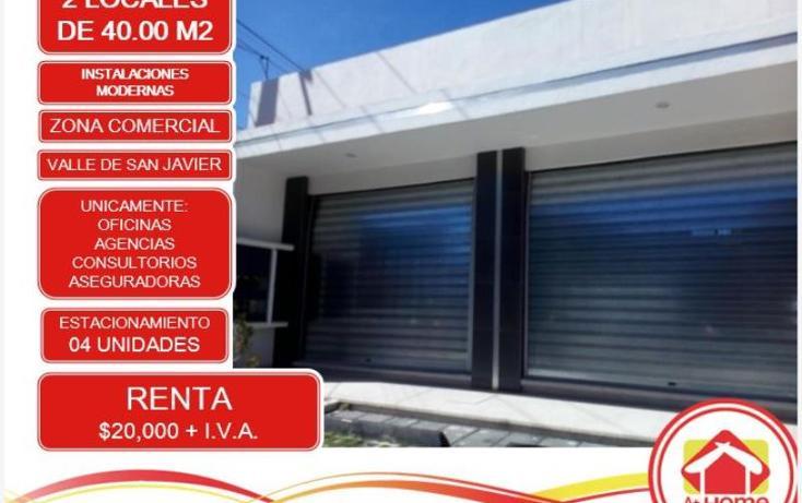 Foto de oficina en renta en  1, valle de san javier, pachuca de soto, hidalgo, 1450837 No. 01